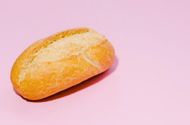 Loaf of bread with color background Free Photo