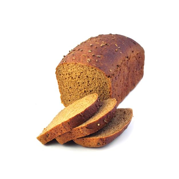 スライスしたライ麦パン Premium写真