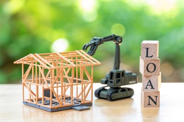 建設労働者モデルハウスモデルはウッドワードloan Premium写真