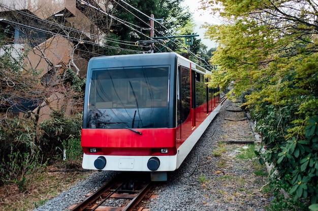Local train in japan Free Photo