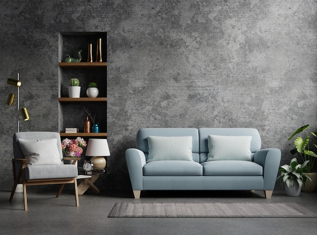 minimalist gray sofa ideas