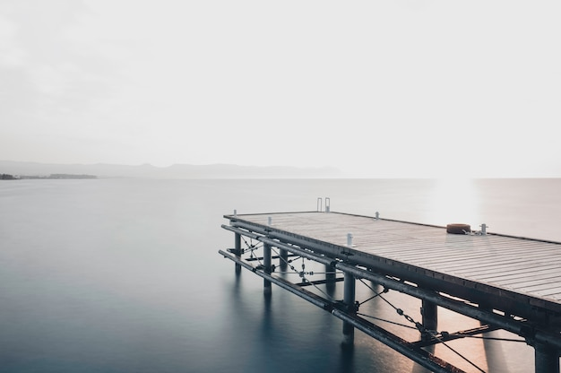 Long exposure pier Free Photo
