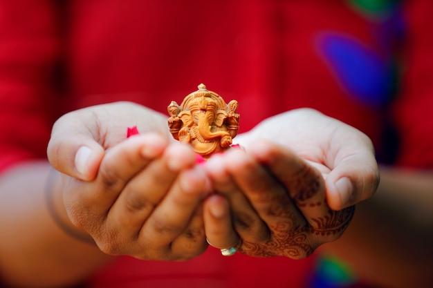 Lord ganesha ganesh festival Premium Photo