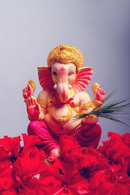 Lord ganesha, ganesha festival Premium Photo