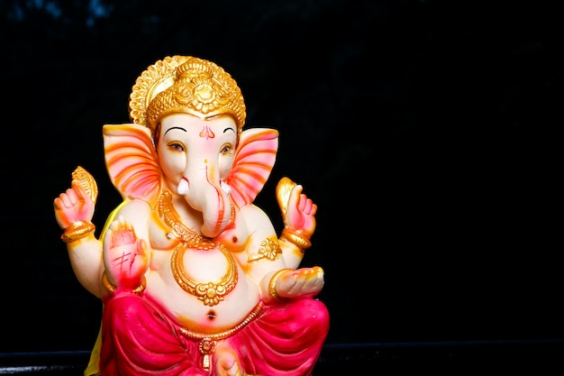 Lord ganesha, indian ganesh festival Premium Photo
