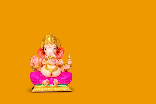 Lord ganesha, indian ganesh festival Premium Photo