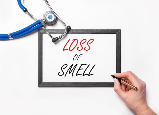 потери запаха и обоняния после ковид