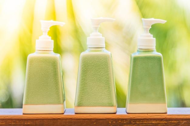 Lotion bottle Free Photo