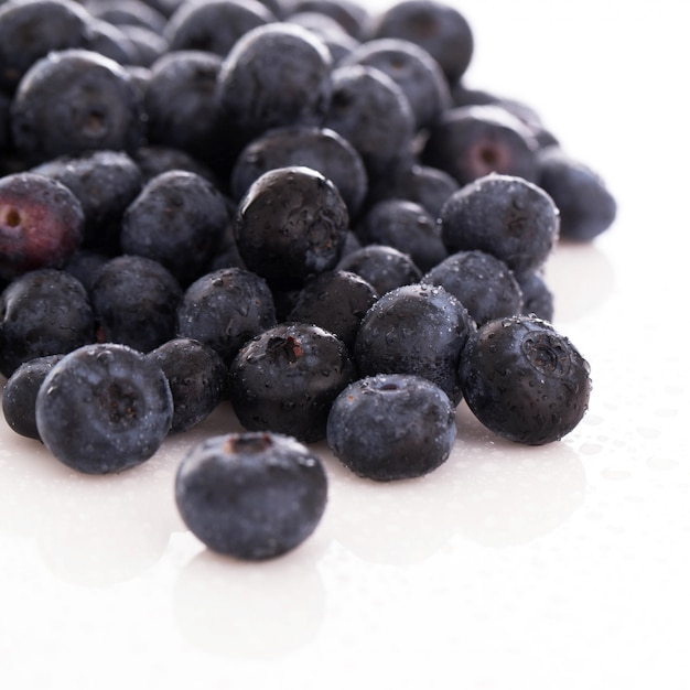 Lots of blueberries Free Photo