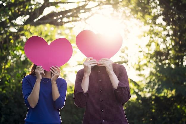 Love, romance and valentine  concept idea. Free Photo