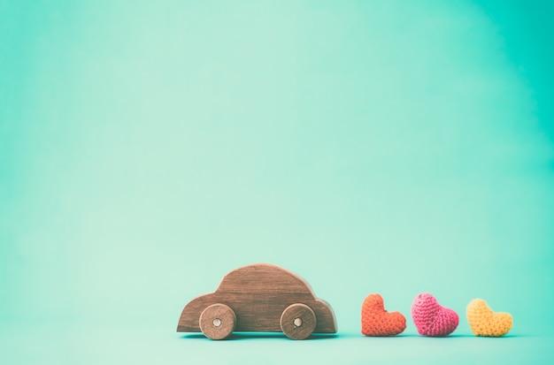 Love , valentine idea background concept. Premium Photo