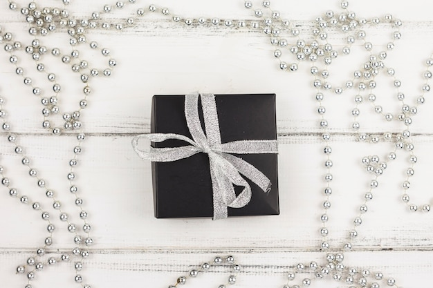 Lovely christmas gifts composition Free Photo