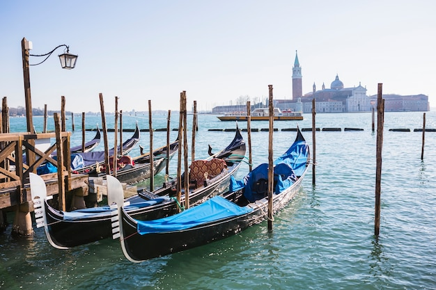 Lovely view of venice Free Photo