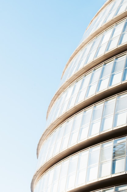 Low-angle photography of modern architecture during daytime Free Photo