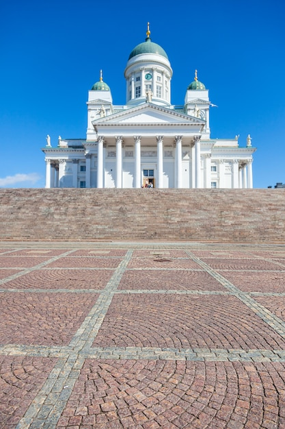 Lutheran cathedral in helsinki Premium Photo