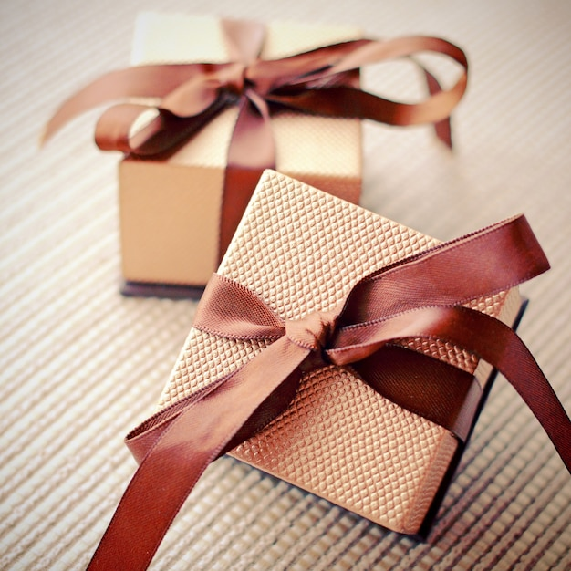 Luxury gift boxes with ribbon retro filter effect photo free luxury gift boxes with ribbon retro filter effect free photo negle Choice Image
