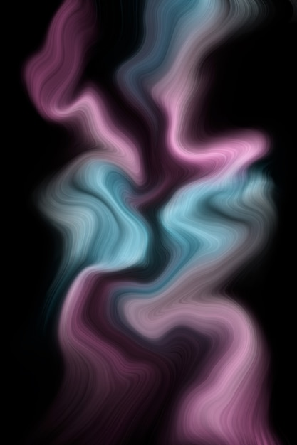 Luxury purple and blue liquid colors background Premium Photo