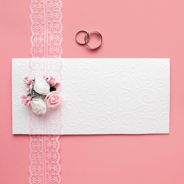 Luxury wedding concept minimalist envelope Free Photo