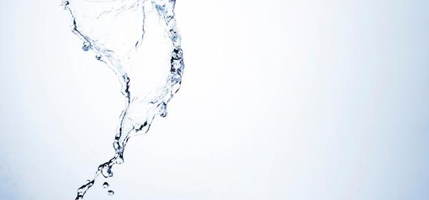 Макрос выстрел из чистой воды формы с копией пространства Premium Фотографии