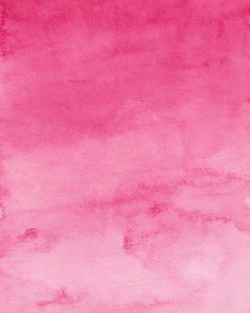 マゼンタピンクの水彩画の背景、デジタルペーパーテクスチャ水彩画 Premium写真