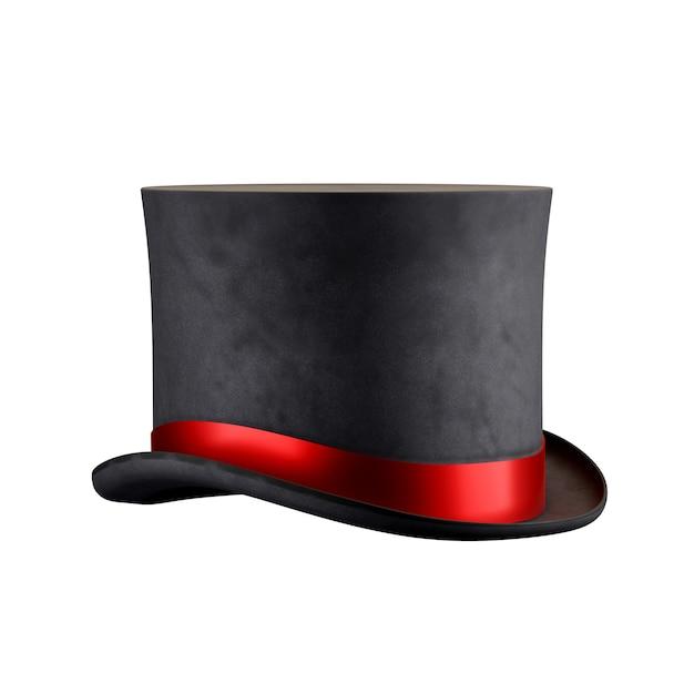 Цилиндр волшебной шляпы Premium Фотографии