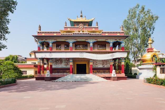 Mahabodhi寺院、bodhgaya Premium写真
