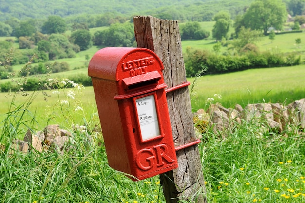 Mailbox in english countryside Free Photo