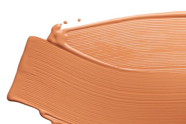 Makeup foundation bb cream smudge cream powder texture background Premium Photo