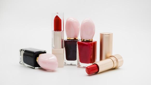 Makeup of lipstick Free Photo