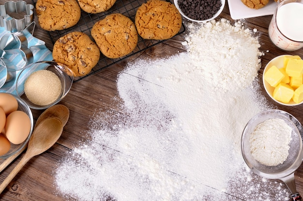 Making Bakery In The Kitchen Photo Free Download