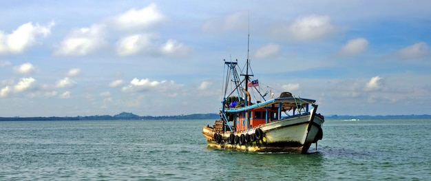 Malaysian boat Premium Photo