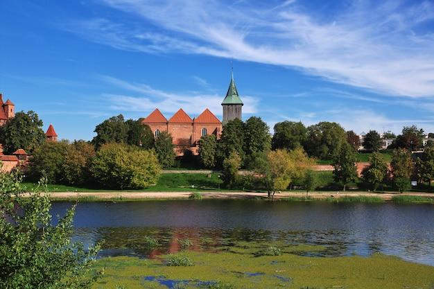 Malbork is crusader castle in poland Premium Photo