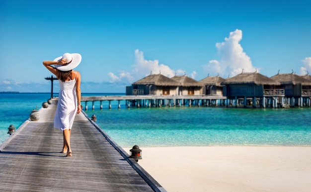 Maldives vacation Premium Photo