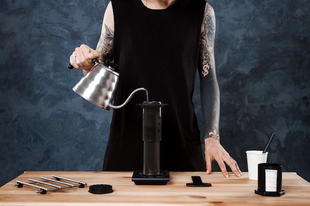 Coffee brewing method