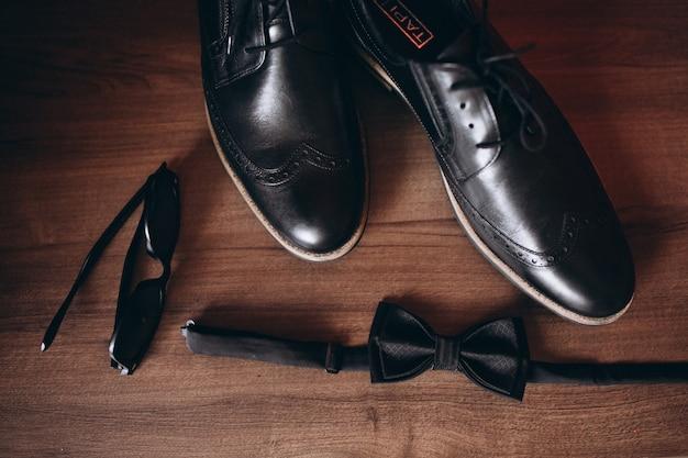 Male wedding shoes Free Photo