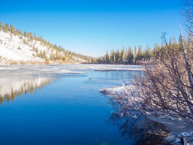 Зима в mammoth lakes. Бесплатные Фотографии