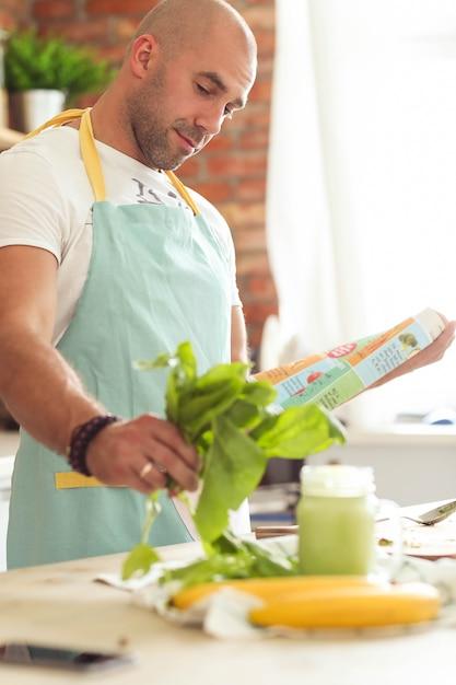 男の料理 無料写真