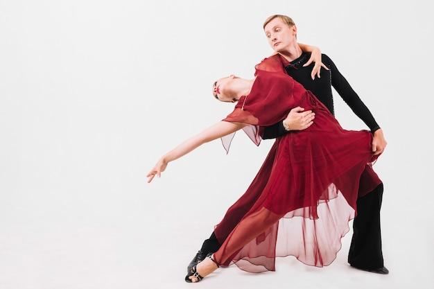 Man dancing sensual dance with woman Free Photo