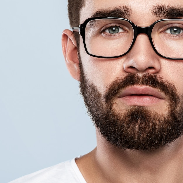 Man in eyeglasses Premium Photo