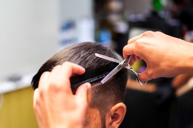 Getting A Haircut 23