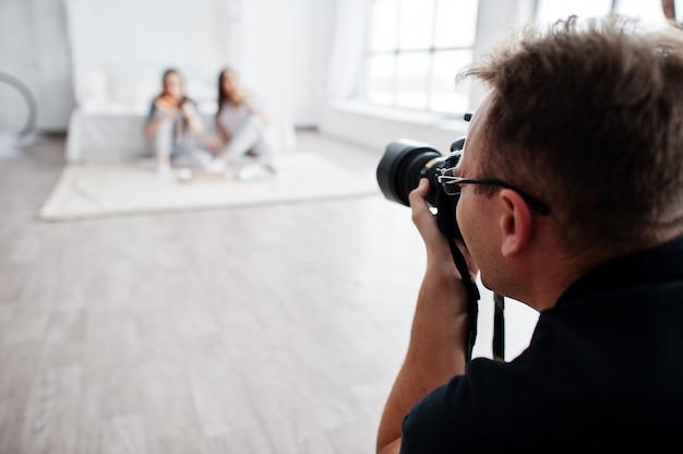 фотограф девушка работа