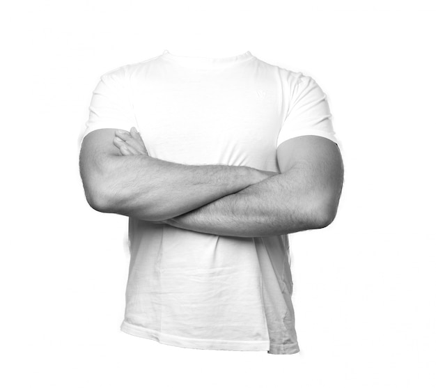 Man t shirt Free Photo