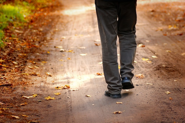 Man walking Free Photo