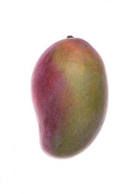 Mango fruit isolated over white Free Photo
