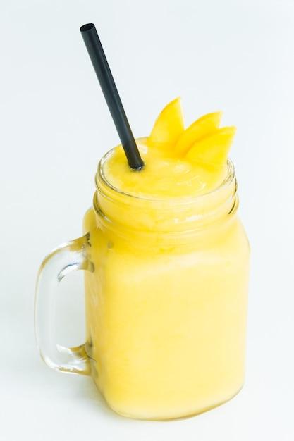 Mango smoothies Free Photo