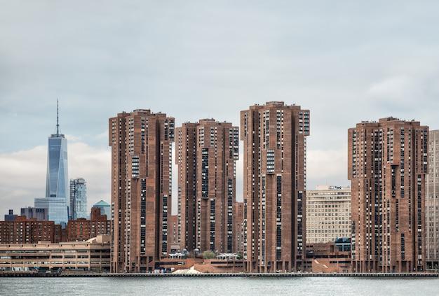 Manhattan, new york city. Premium Photo