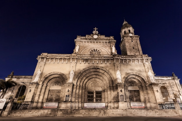 Manila cathedral Premium Photo