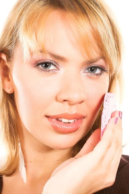 Manipulation treatment isolated on white Premium Photo
