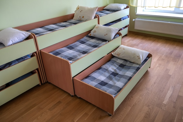 small empty room empty bedroom furniture