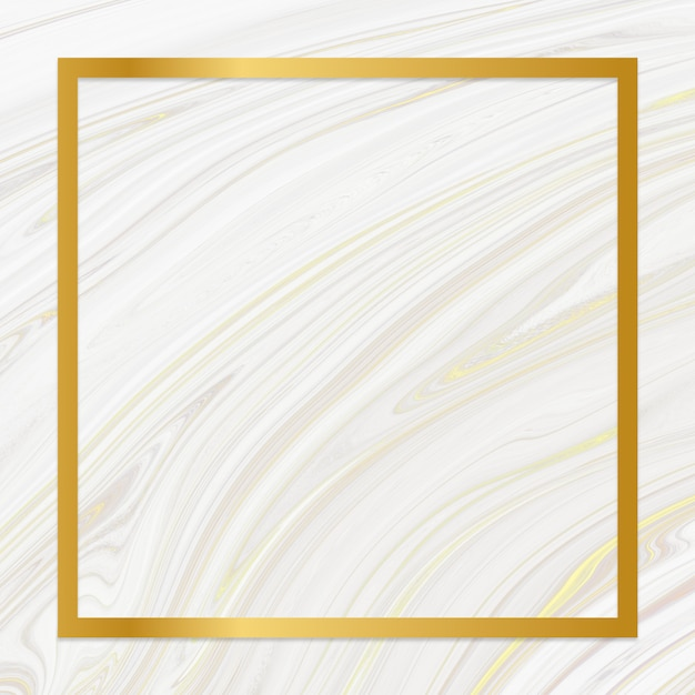 Marble textured backdrop frame Free Photo
